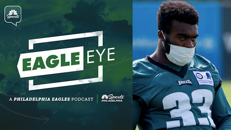 Eagle Eye podcast: Elijah Holyfield starting to take roster spot