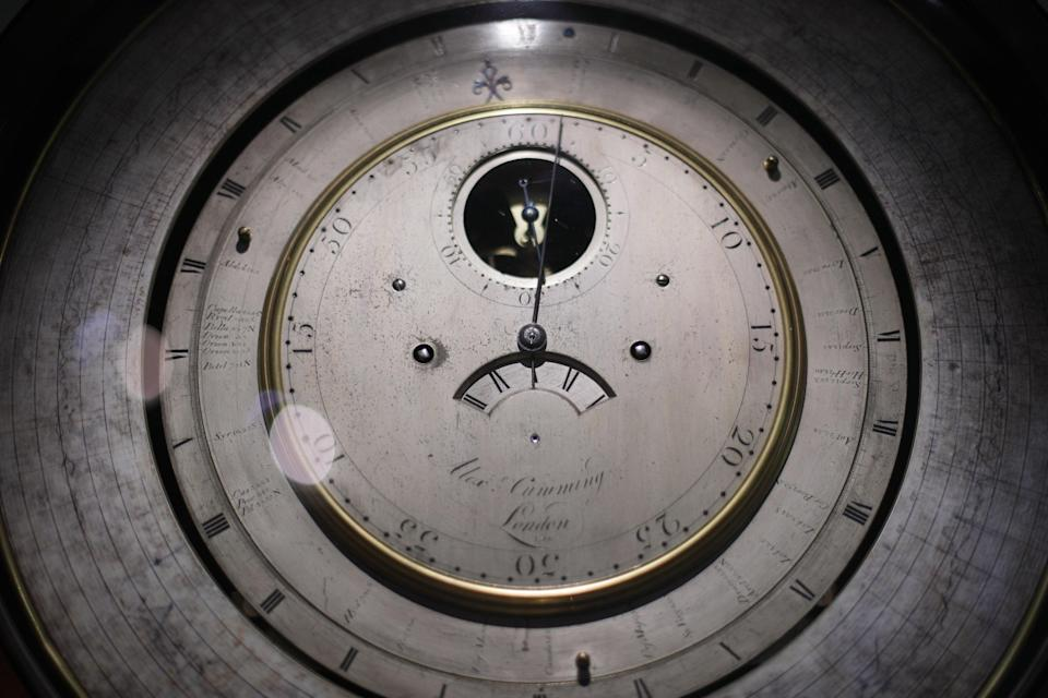 A clock face (PA Archive)