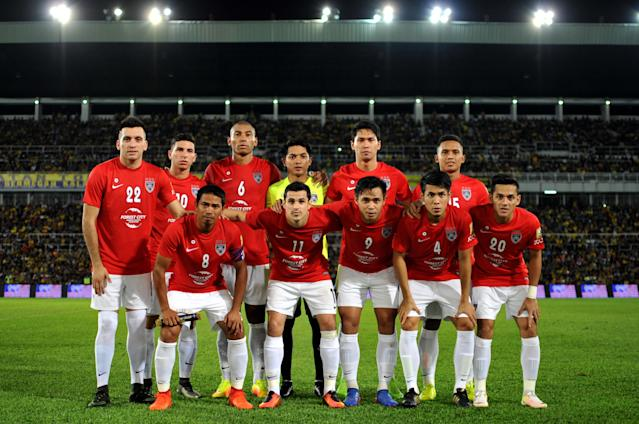 A tired looking JDT did just enough to win 2-1 away at Penang to increase their lead at the top of the Super League