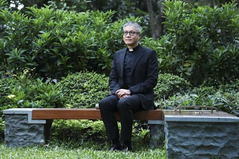 """Reverend Canon Peter Koon said Chan would have a chance for redemption and """"both families can start over with a new life"""". Photo: Nora Tam"""