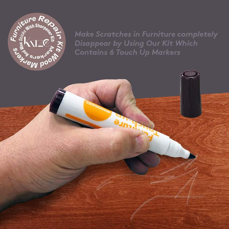 Furniture Repair Kit Wood Markers. (Photo: Amazon)
