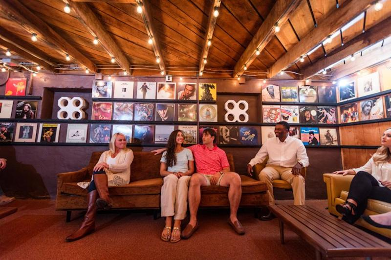 The inside of the Muscle Shoals Sound Studio which has recently undergone a huge restoration. Source: Supplied