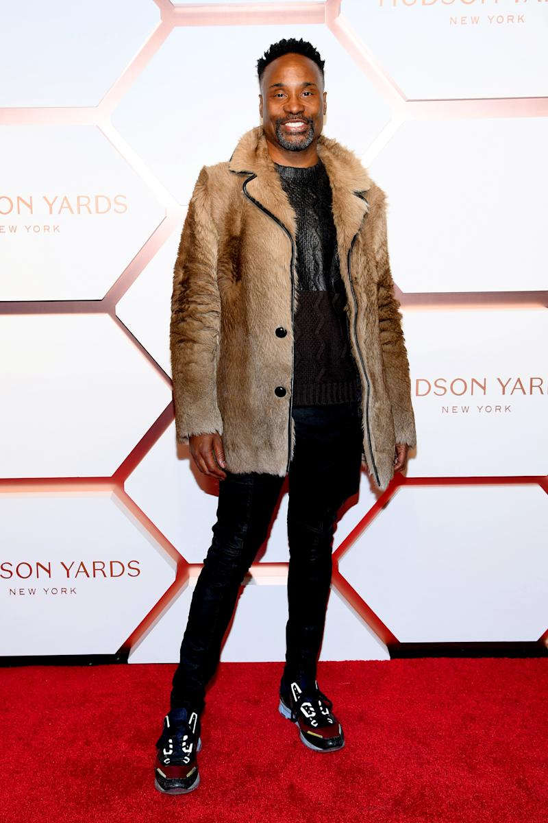 Billy Porter attends The Shops & Restaurants at Hudson Yards Preview Celebration on March 14, 2019 in New York City.