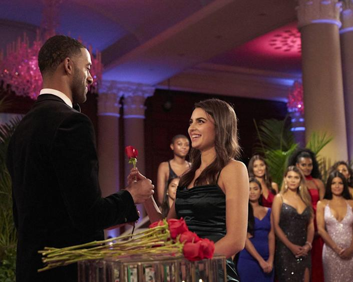 """<p>While the Bachelor/ette ultimately decides who gets sent home in general, <a href=""""https://www.youtube.com/watch?v=-oM7AgpPV1s"""" rel=""""nofollow noopener"""" target=""""_blank"""" data-ylk=""""slk:Katy said"""" class=""""link rapid-noclick-resp"""">Katy said</a> producers are the ones who line up the juiciest order of eliminations. </p>"""