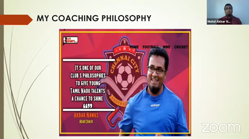EMBED ONLY Akbar Nawas My coaching philosophy