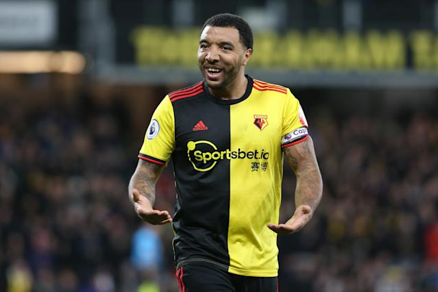 Troy Deeney of Watford. (Photo by Charlotte Wilson/Getty Images)