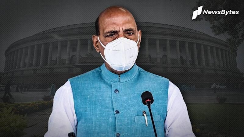 Rajnath blames China for LAC-tensions, drums up support for Army