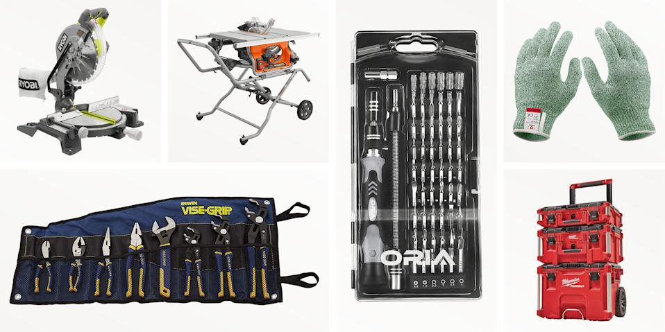 "<p>If you need tools for yourself or are gifting them to that first-time homeowner or handyman/woman, Black Friday sales can help you save some cash on a thoughtful present. We've rounded up 13 of the best deals, from stocking stuffer drive sets to table saws that you'd be lucky to fit under the tree. And if you need more inspiration, have a look at our <a href=""https://www.popularmechanics.com/home/tools/g378/tools-gifts/"" rel=""nofollow noopener"" target=""_blank"" data-ylk=""slk:Best Tools Under $200"" class=""link rapid-noclick-resp"">Best Tools Under $200</a>.</p>"