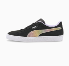 """<p><strong>Puma</strong></p><p>puma.com</p><p><strong>$75.00</strong></p><p><a href=""""https://go.redirectingat.com?id=74968X1596630&url=https%3A%2F%2Fus.puma.com%2Fen%2Fus%2Fpd%2Fpride-suede-sneakers%2F380838.html%3Fdwvar_380838_color%3D01&sref=https%3A%2F%2Fwww.seventeen.com%2Flife%2Fg20195640%2Fgay-pride-clothing-lgtbq-friendly-companies%2F"""" rel=""""nofollow noopener"""" target=""""_blank"""" data-ylk=""""slk:Shop Now"""" class=""""link rapid-noclick-resp"""">Shop Now</a></p><p>PUMA teamed up with model Cara Delevingne for a <a href=""""https://go.redirectingat.com?id=74968X1596630&url=https%3A%2F%2Fus.puma.com%2Fen%2Fus%2Fcollections%2Flifestyle%2Fpride-pack&sref=https%3A%2F%2Fwww.seventeen.com%2Flife%2Fg20195640%2Fgay-pride-clothing-lgtbq-friendly-companies%2F"""" rel=""""nofollow noopener"""" target=""""_blank"""" data-ylk=""""slk:22-piece collection"""" class=""""link rapid-noclick-resp"""">22-piece collection</a> that embodies the brand's sporty coolness. With each purchase, <strong>20% will be donated to the Cara Delevingne Foundation</strong>, a project of the <a href=""""https://www.givingback.org/"""" rel=""""nofollow noopener"""" target=""""_blank"""" data-ylk=""""slk:Giving Back Fund"""" class=""""link rapid-noclick-resp"""">Giving Back Fund</a>.</p>"""
