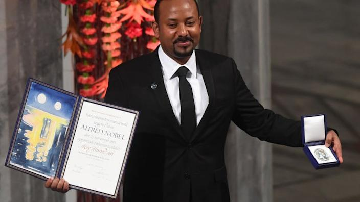 Prime Minister Abiy Ahmed won the Nobel Peace Prize in 2019