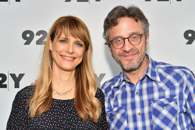 Lynn Shelton and Marc Maron dated for about a year before her death in May. (Photo: Dia Dipasupil/Getty Images)