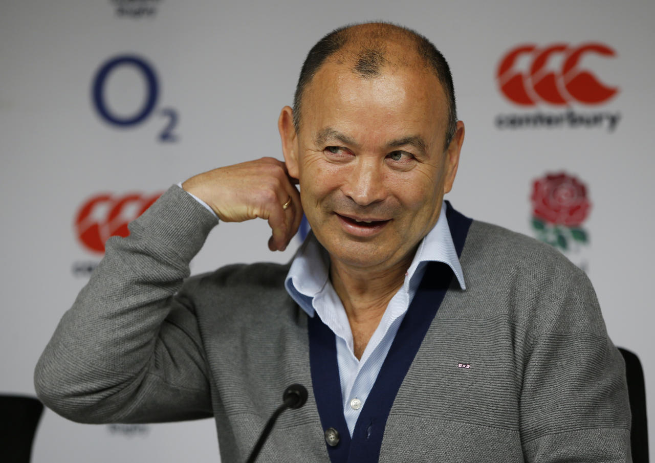 Britain Rugby Union - England - Eddie Jones Press Conference - Twickenham Stadium - 20/4/17 England head coach Eddie Jones during the press conference Action Images via Reuters / Paul Childs Livepic