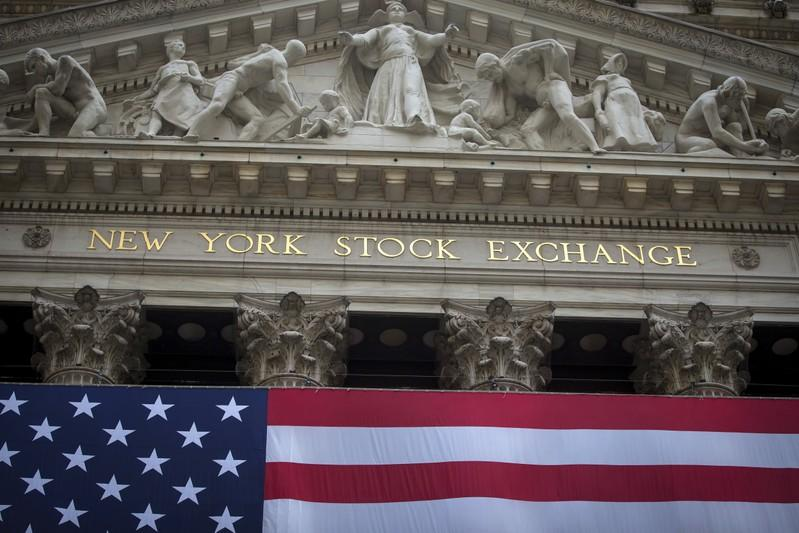 FILE PHOTO: The New York Stock Exchange is pictured in the Manhattan borough of New York