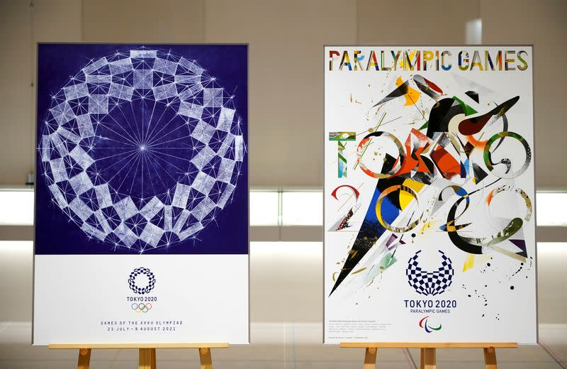 FILE PHOTO: Tokyo 2020 Games Iconic Posters unveiled
