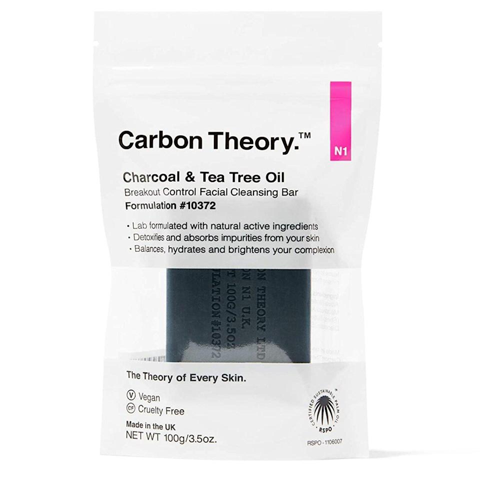 Carbon Theory | Charcoal & Tea Tree Oil Facial Cleansing Bar