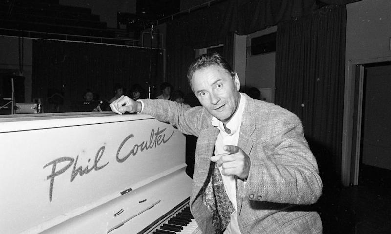 Songwriter Phil Coulter, the composer of Ireland's Call, in 1987.