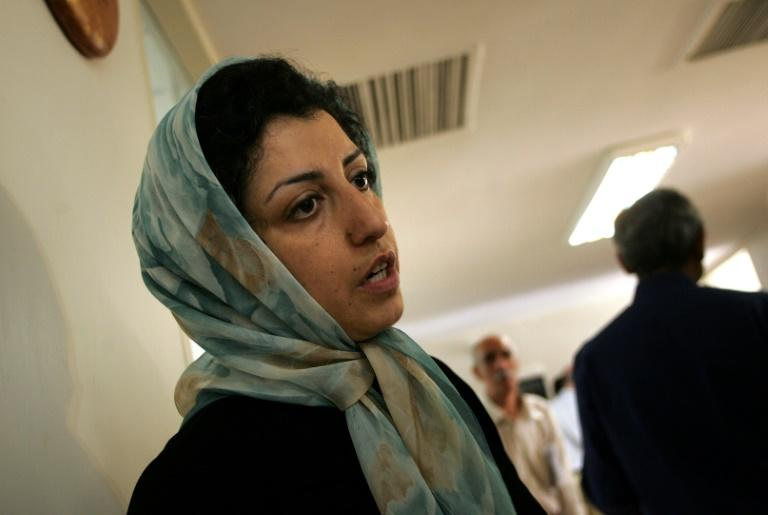 Narges Mohammadi was spokeswoman for the Defenders of Human Rights Center in Iran -- founded by lawyer Shirin Ebadi, Nobel Peace Prize laureate in 2003 -- when she was arrested and imprisoned in May 2015