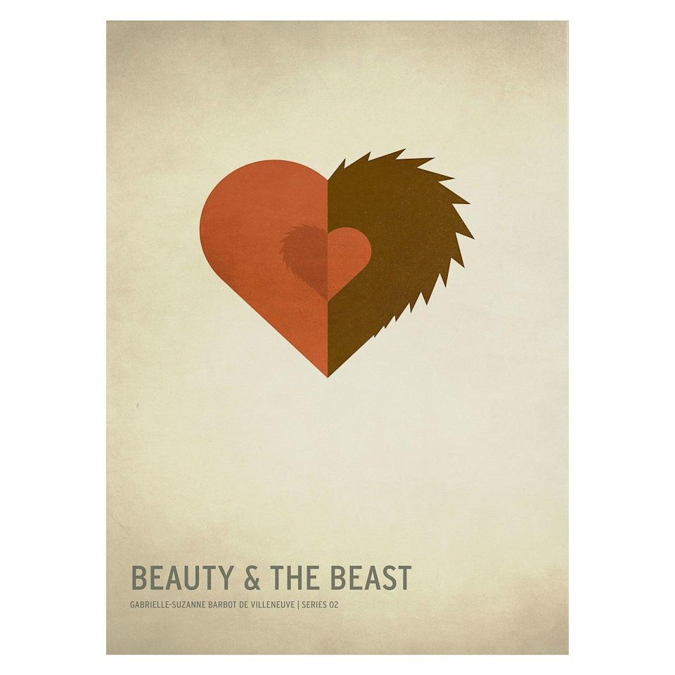 <p>The <span><strong>Beauty and the Beast </strong>by Christian Jackson Wall Print</span> ($50)<span><strong>Beauty and the Beast </strong>by Christian Jackson Wall Print</span> represents the fairytale perfectly. </p>