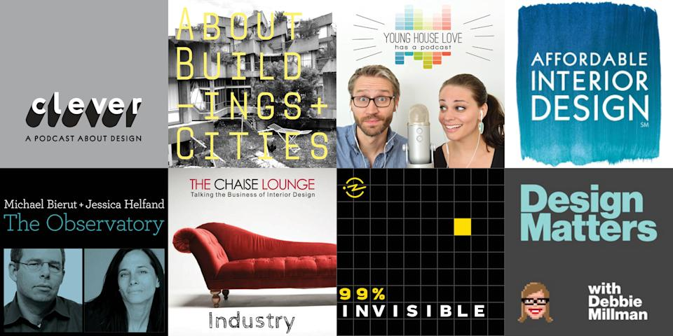 <p>Experiencing and appreciating design doesn't need to be limited to photos, video, or magazines (though we appreciate you for reading!). Let us introduce you to our companion on long drives, our laundry-folding partner in crime, the podcast—and more specifically, the design podcast. Whether you're looking to tackle a DIY project, learn the history of a celebrated building, or you just want to get to know your favorite designers, one of these podcasts is bound to do the trick. From major players in the industry to lesser-known picks, we can guarantee that you'll get hooked on at least one of these.</p><p><em>This story was originally published on 12/20/2019. It has since been updated. </em></p>