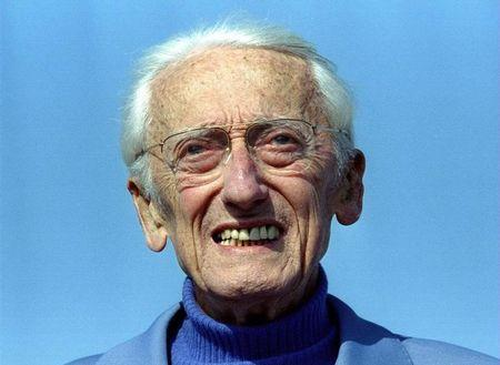 CAPTAIN JACQUES YVES COUSTEAU IN FILE PHOTO