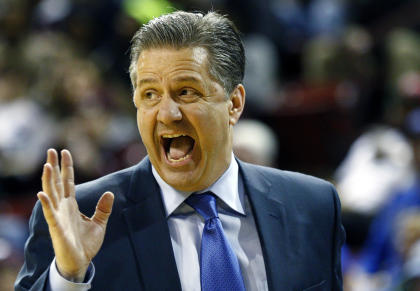Two of John Calipari's five Final Four appearances have been vacated due to NCAA violations. (AP)