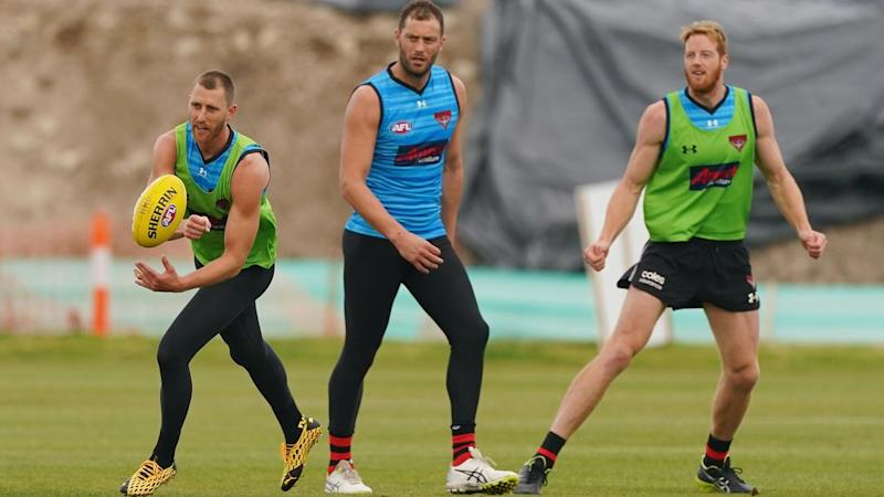 AFL BOMBERS Heppell