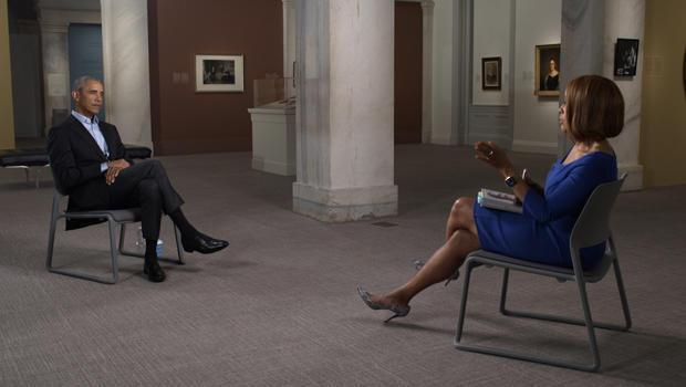Former President Barack Obama sits down with