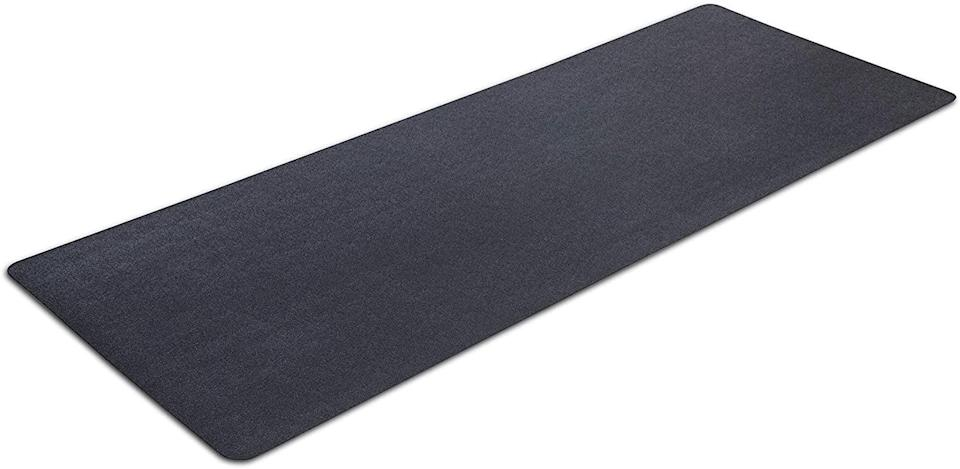 <p>Not only does the <span>MotionTex Exercise Equipment Mat</span> ($39, originally $50) prevent your Peloton from slipping, the material it's made of contains an antimicrobial agent to prevent harmful microorganisms from growing, keeping your workout space as sanitary as possible.</p>