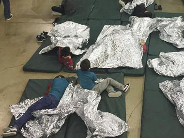 """Consider the words Trump is using to defend what's clearly driven a new wrench into American politics: """"migrant camp"""", """"refugee holding facility"""". Each one is provacative, crafted for live audiences and aligns with confirmation biases at that least some, if not all, voters feel but may not talk about. In the latest case, Trump is up against a formidable foe - visuals playing on loop of desperate people and little children locked up like convicts, in """"cages"""" with chain link fencing and being guarded by tough looking border security police."""