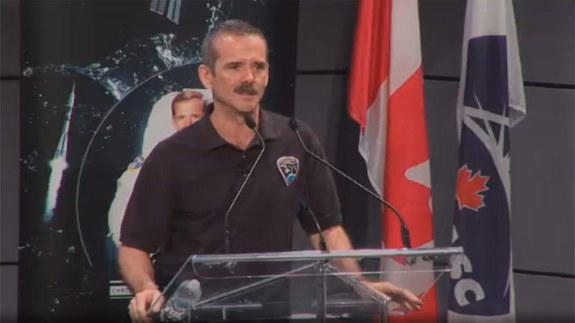 On June 10, Canadian astronaut Chris Hadfield announced his retirement from the Canadian Space Agency and government service. His resignation takes effect July 3.