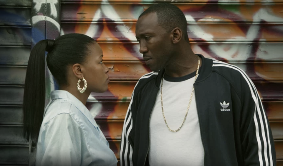"<p>A 2017 Sundance Film Festival favorite, <em>Roxanne, Roxanne</em> is a biopic that tells the story of Queens-born emcee Roxanne Shanté, who rose to fame at the age of 14 following the release of her 1984 single ""Roxanne's Revenge."" While she's considered one of hip-hop's <a href=""https://www.nytimes.com/2018/03/20/movies/roxannes-revenge-shante-netflix.html"" rel=""nofollow noopener"" target=""_blank"" data-ylk=""slk:first female rappers"" class=""link rapid-noclick-resp"">first female rappers</a>, the film depicts her struggle to succeed in the male-dominated music industry of the 1980s.</p><p><a class=""link rapid-noclick-resp"" href=""https://www.netflix.com/title/80171733"" rel=""nofollow noopener"" target=""_blank"" data-ylk=""slk:Watch It Now"">Watch It Now</a><br></p>"