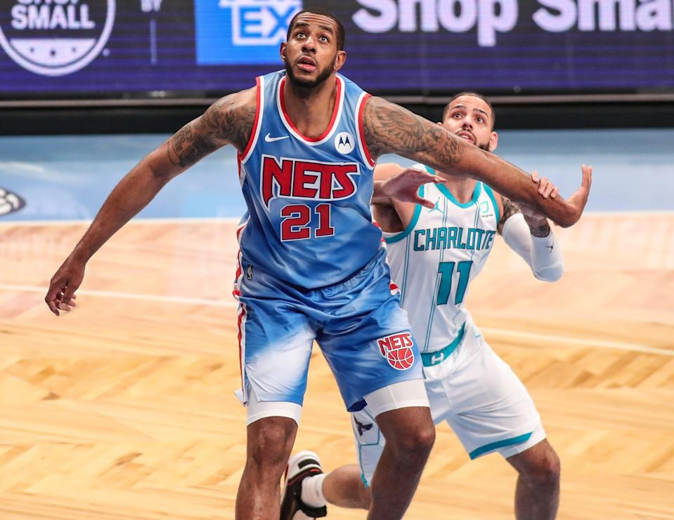 LaMarcus Aldridge, who signed with the Nets last month after a buyout from San Antonio, said he was recently diagnosed with an irregular heartbeat.
