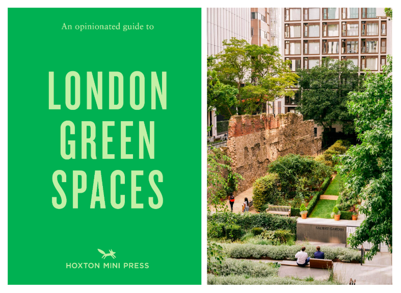 Photo credit: Marco Kesseler, An Opinionated Guide to London Green Spaces, Hoxton Mini Press, 2020