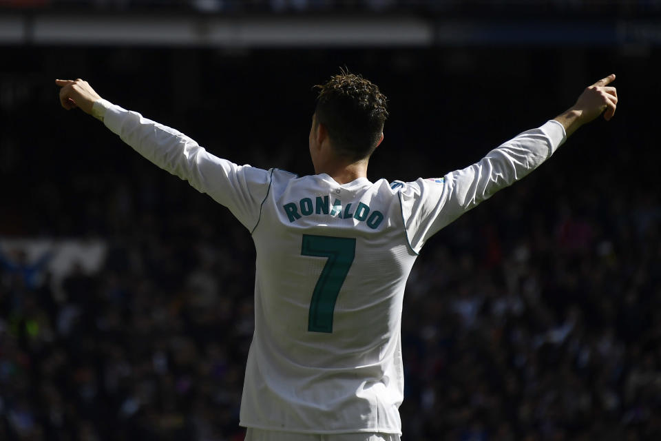 CR7, serial buteur