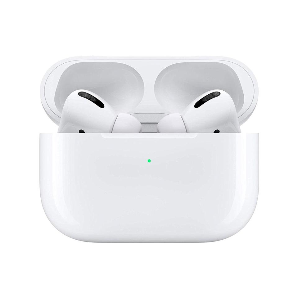 "Speaking of AirPods, there has to be <em>someone</em> you know with wireless headphones on their wish list this year. Do them a solid and get the Pro version while it's on sale. $240, Amazon. <a href=""https://www.amazon.com/Apple-MWP22AM-A-AirPods-Pro/dp/B07ZPC9QD4/ref=sr_1_1_sspa?"" rel=""nofollow noopener"" target=""_blank"" data-ylk=""slk:Get it now!"" class=""link rapid-noclick-resp"">Get it now!</a>"