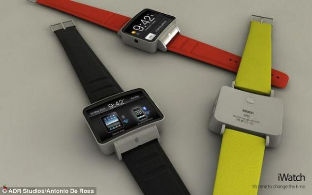 "<p>Styled much like the current watch straps which hold iPod Nanos, Antonio De Rosa's iWatch design appears to be a more streamline version of the music device.</p> <p>For more of De Rosa's designs, visit: <a href=""https://ec.yimg.com/ec?url=http%3a%2f%2fwww.adr-studio.it%2fsite%2f%3fpage_id%3d14%26amp%3balbum%3d1%26amp%3bgallery%3d49%26quot%3b&t=1498636404&sig=bU1XvhKzovHMNKvB3O0QuA--~C target=""_blank"">http://www.adr-studio.it/site/?page_id=14&album=1&gallery=49</a></p>"