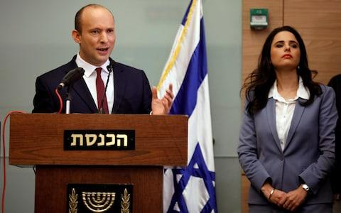 Naftali Bennett, leader of Jewish Home, said he would not bring down the government - Credit: REUTERS/Amir Cohen