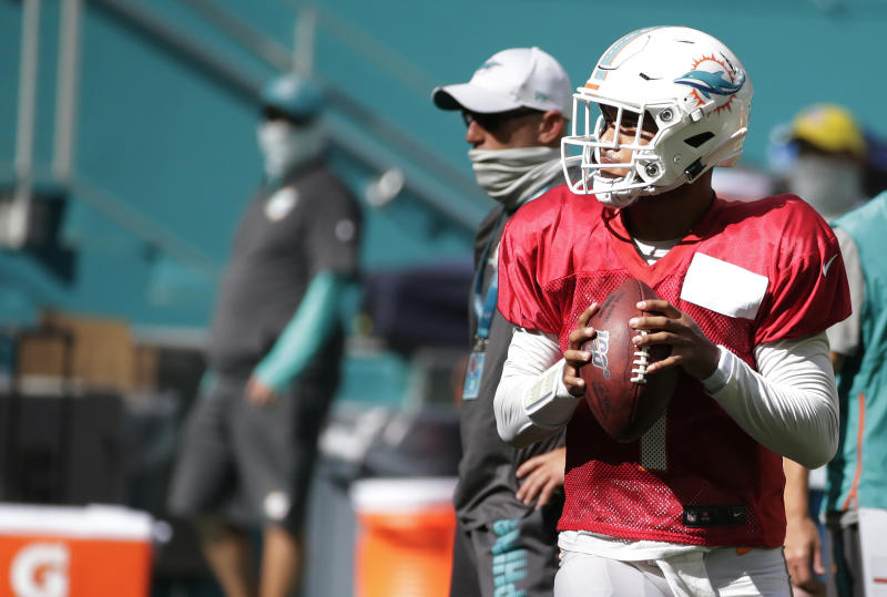 Dolphins QB Tua Tagovailoa recalls hard lessons from the past