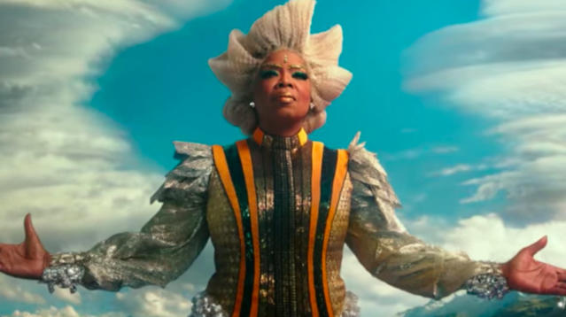 Oprah Winfrey as Mrs. Which in <em>A Wrinkle in Time</em>. (Photo: Disney)