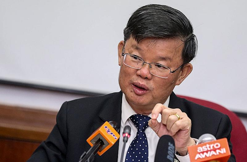 Chow said the state government will only offer the chief executive officer positions in GLCs to professionals in the business and administration fields. — Picture by Sayuti Zainudin