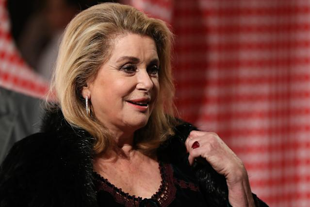 "Catherine Deneuve penned a letter with about 100 other prominent French women attacking the #MeToo movement as ""puritanical."" (Photo: Getty Images)"