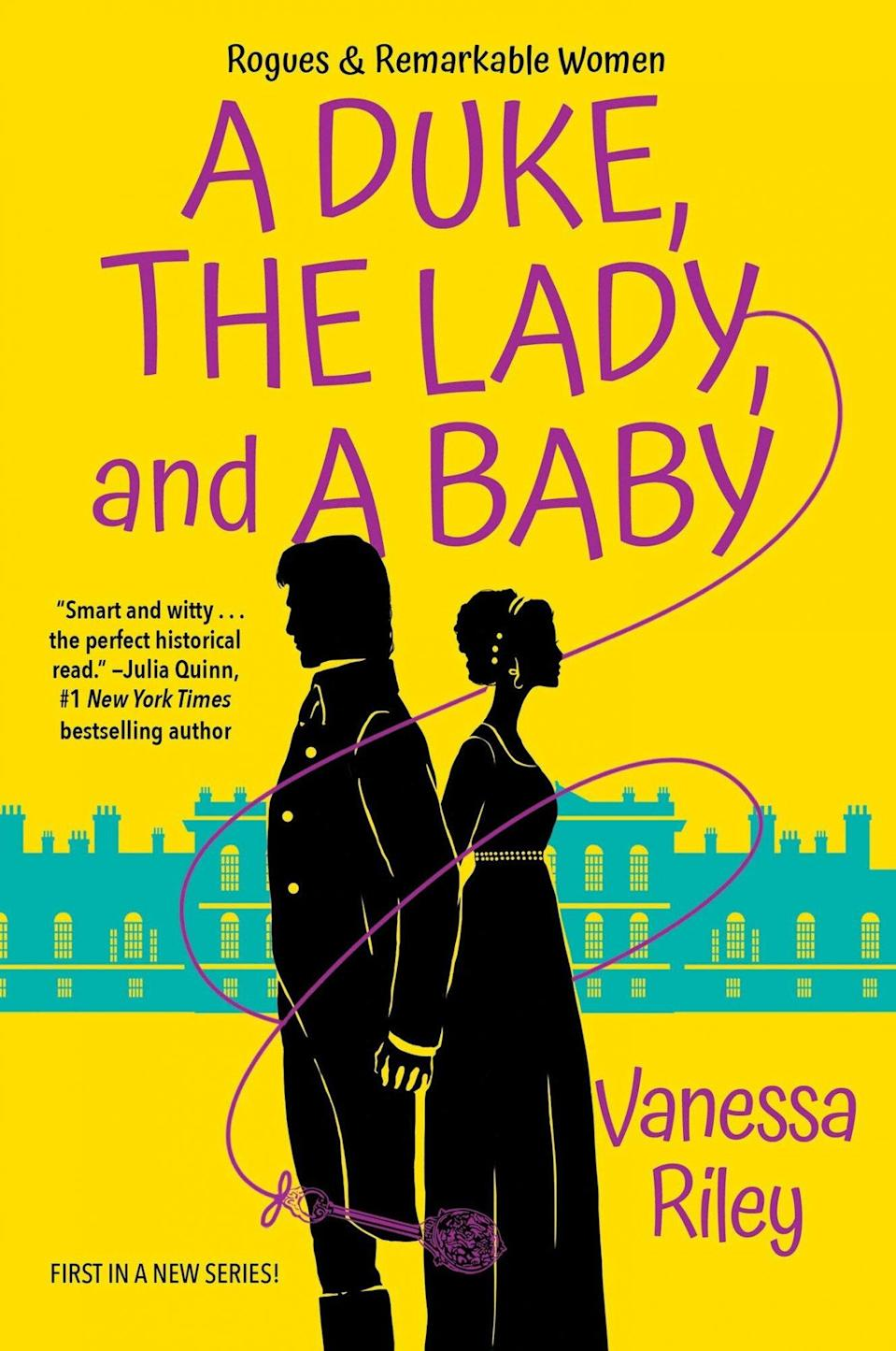 A Duke, the Lady, and a Baby by Vanessa Riley