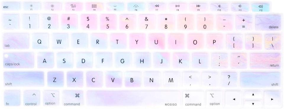 """<p>Spice up their computer with this pretty <a href=""""https://www.popsugar.com/buy/MOSISO-Keyboard-Cover-496549?p_name=MOSISO%20Keyboard%20Cover&retailer=amazon.com&pid=496549&price=7&evar1=geek%3Auk&evar9=26294675&evar98=https%3A%2F%2Fwww.popsugartech.com%2Fphoto-gallery%2F26294675%2Fimage%2F46728668%2FMOSISO-Keyboard-Cover&list1=shopping%2Cgadgets%2Choliday%2Cgift%20guide%2Choliday%20living%2Ctech%20gifts%2Cgifts%20under%20%24100&prop13=api&pdata=1"""" class=""""link rapid-noclick-resp"""" rel=""""nofollow noopener"""" target=""""_blank"""" data-ylk=""""slk:MOSISO Keyboard Cover"""">MOSISO Keyboard Cover </a> ($7).</p>"""