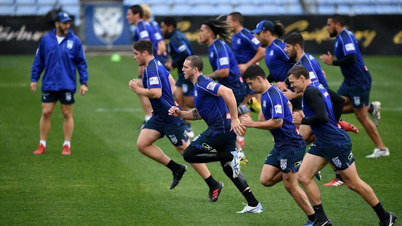 The Bulldogs can resume training on Saturday after breaking biosecurity protocols earlier this week