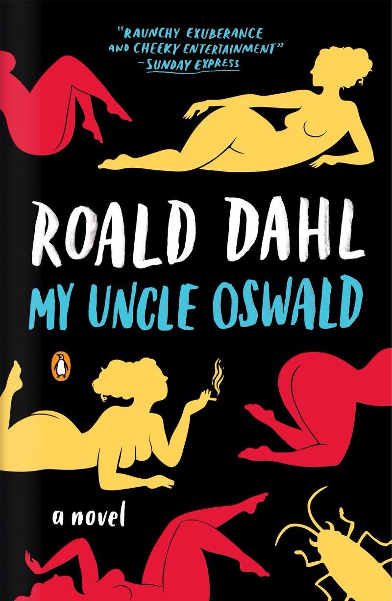my uncle oswald roald dahl cover