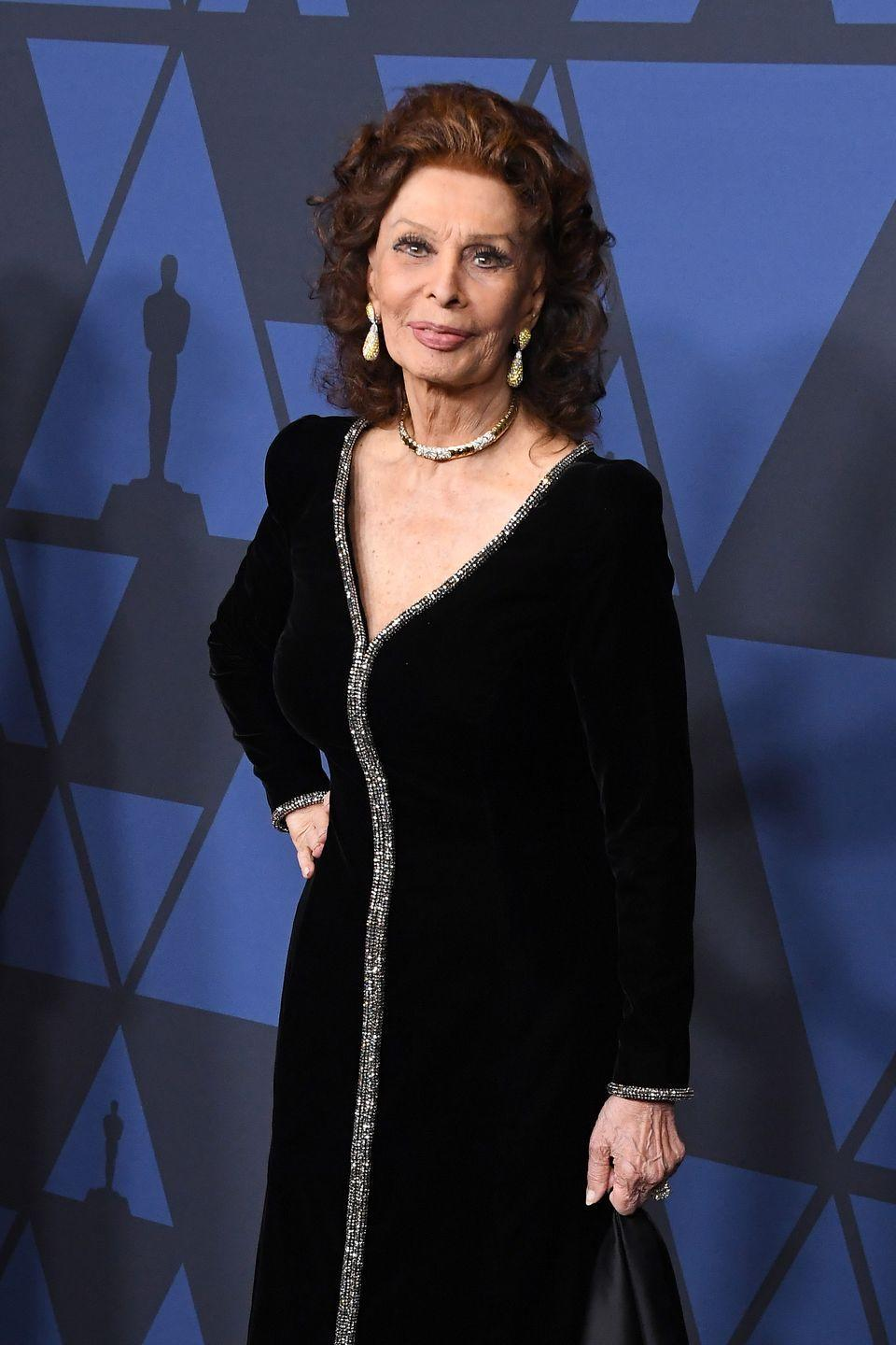 <p>Sophia went on to become one of the biggest names during the Golden Era of Hollywood and became an Academy Award-winning actress.</p>