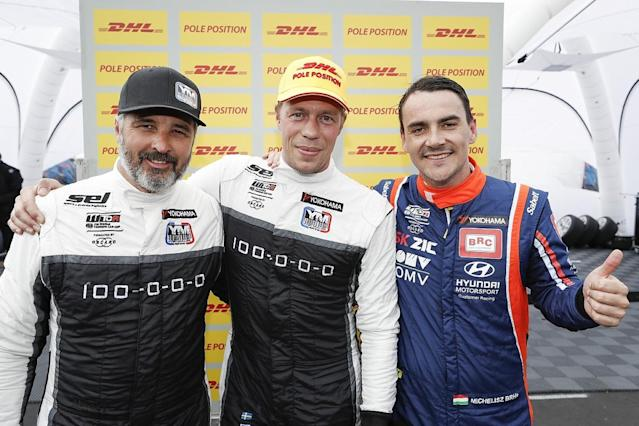 Yvan Muller beat team-mate Thed Bjork to take his first victory for his own Yvan Muller Racing outfit in the World Touring Car Cup on the Nurburgring Nordschleife