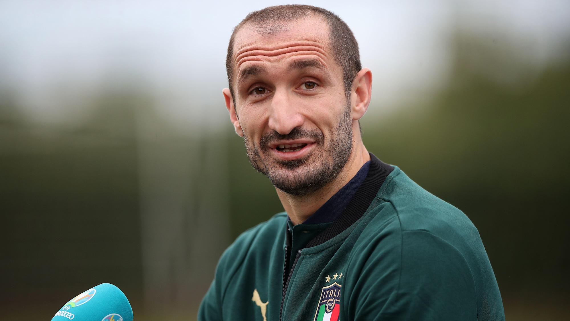 Giorgio Chiellini: England's bench could have made it to the final on their own