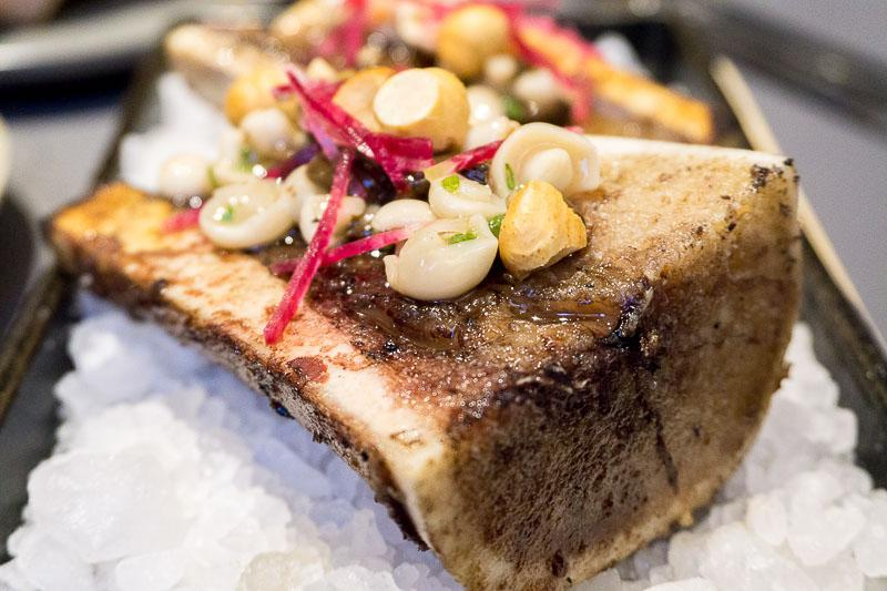 Roasted Bone Marrow at Fat Belly Social Steakhouse