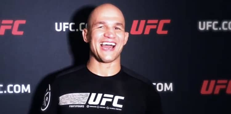 Junior dos Santos UFC on ESPN+ 24 pre-fight scrum